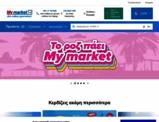 mymarket.gr screenshot