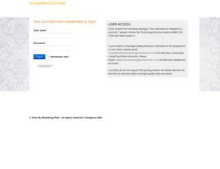mymarketingplan.iammorrison.com screenshot