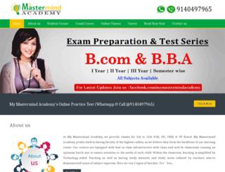 mymastermindacademy.com screenshot