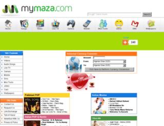 mymaza.net screenshot