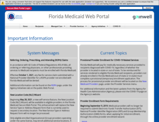 mymedicaid-florida.com screenshot