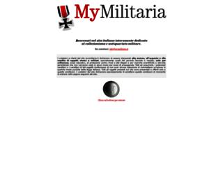 mymilitaria.it screenshot