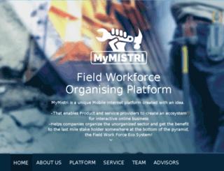 mymistri.com screenshot