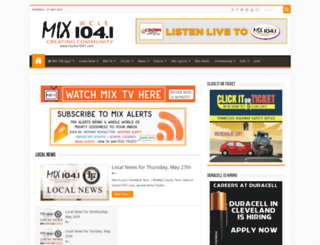 mymix1041.com screenshot