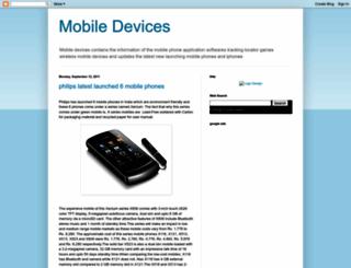 mymobiledevices.blogspot.com screenshot