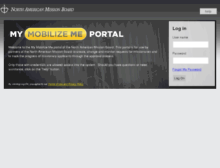 mymobilizeme.namb.net screenshot