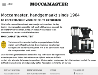 mymoccamaster.de screenshot