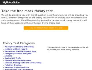 mymotorguide.com screenshot