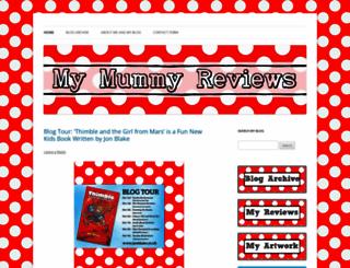 mymummyreviews.com screenshot