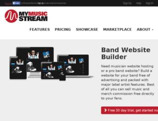 mymusicservers.com screenshot