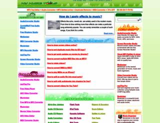 mymusictools.com screenshot