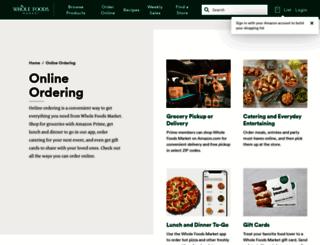 mynaturalmarket.com screenshot