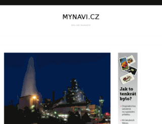 mynavi.cz screenshot