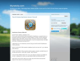 mynetcity.com screenshot