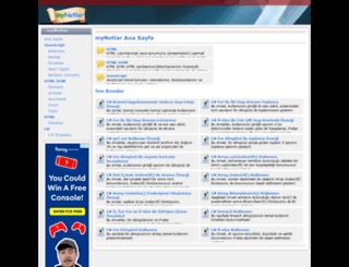mynotlar.com screenshot