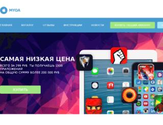 myoastore.ru screenshot