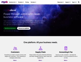 myob.com screenshot