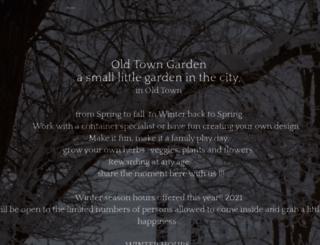 myoldtowngarden.com screenshot