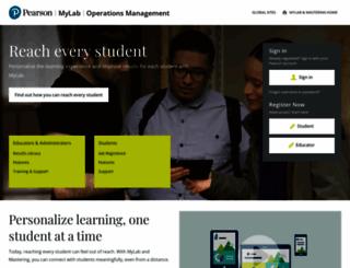 myomlab.com screenshot