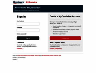 myomniview.omnicare.com screenshot