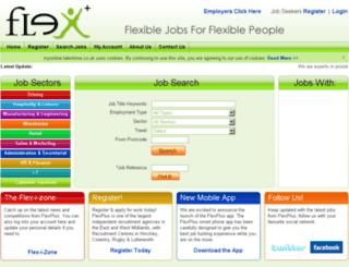 myonline.flexplus.co.uk screenshot