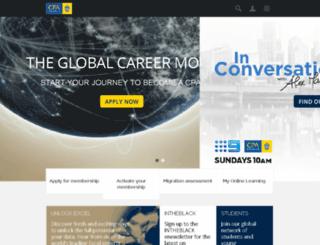 myonlinelearning.cpaaustralia.com.au screenshot
