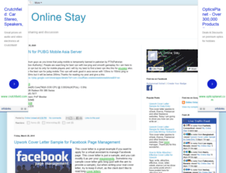 myonlinestay.blogspot.com screenshot