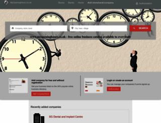 myopeninghours.co.uk screenshot