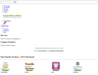 myopensourcestore.com screenshot