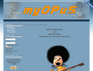 myopus-radio.de screenshot