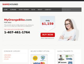 myorangebike.com screenshot