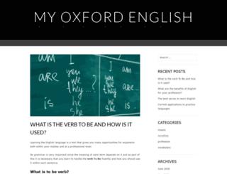 myoxfordenglish.es screenshot