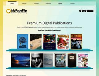mypageflip.com screenshot