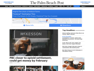 mypalmbeachpost.com screenshot