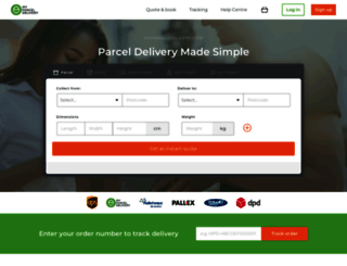 myparceldelivery.com screenshot