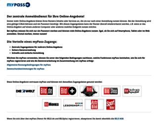 mypass.de screenshot