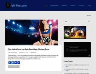 mypassport.asia screenshot