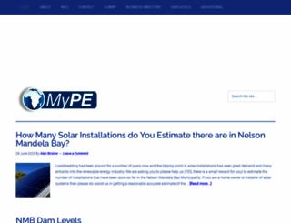 mype.co.za screenshot