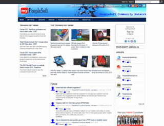 mypeoplesoft.com screenshot