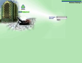 myperkeso.perkeso.gov.my screenshot