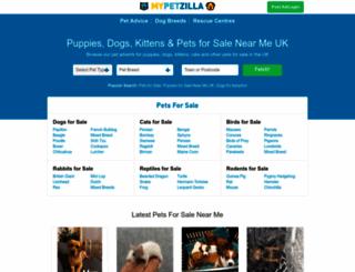 mypetzilla.co.uk screenshot