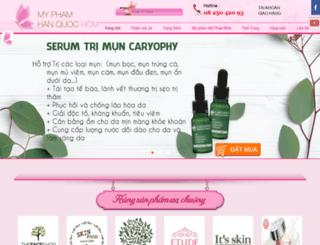myphamhanquochcm.com screenshot