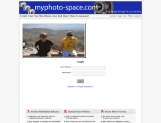 myphoto-space.com screenshot