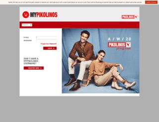 mypikolinos.pikolinos.com screenshot