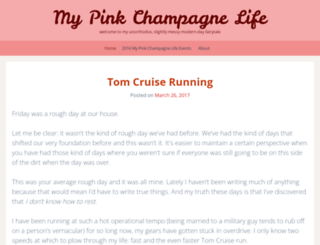 mypinkchampagnelife.wordpress.com screenshot