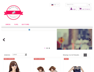 mypinkclosetshop.com screenshot