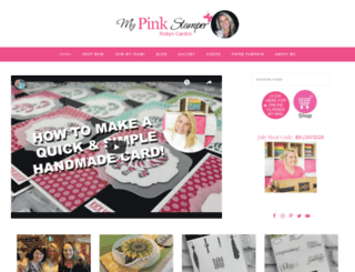 mypinkstamper.com screenshot