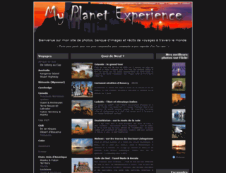 myplanetexperience.com screenshot