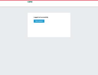 myportal.cbre.com screenshot