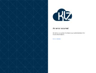 myportal.klz.org.uk screenshot